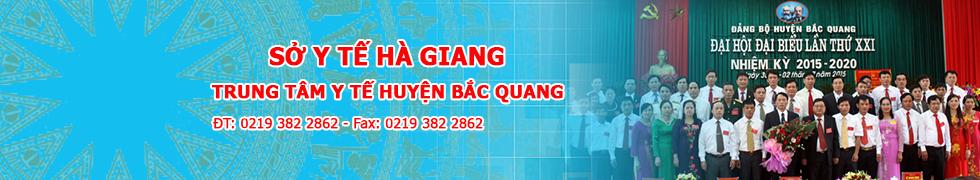 Trung tâm y tế huyện Bắc Quang