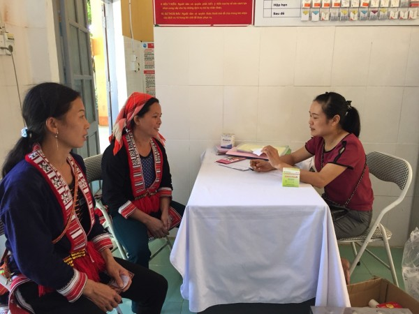 Triển khai chiến dịch chăm sóc sức khỏe sinh sản tại xã Đức Xuân