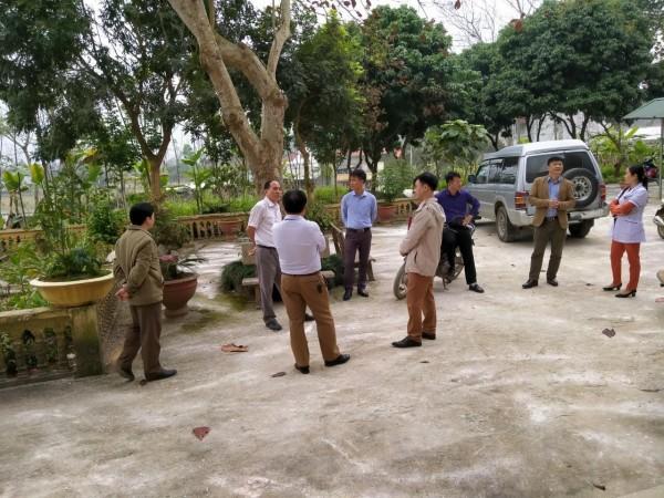 Giám sát công tác phòng chống dịch bệnh Covid – 19